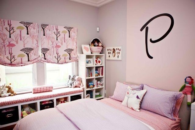 Jugendzimmer Ideen Mädchen Ikea Stehregal Sitzbank Fenster Photo