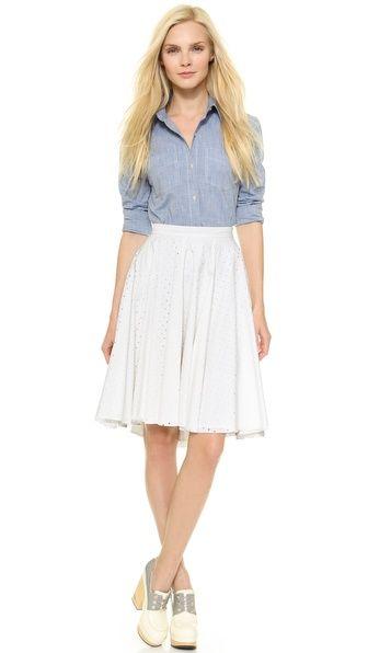 Sonia by Sonia Rykiel Skirt with Holes. #SHOPBOP