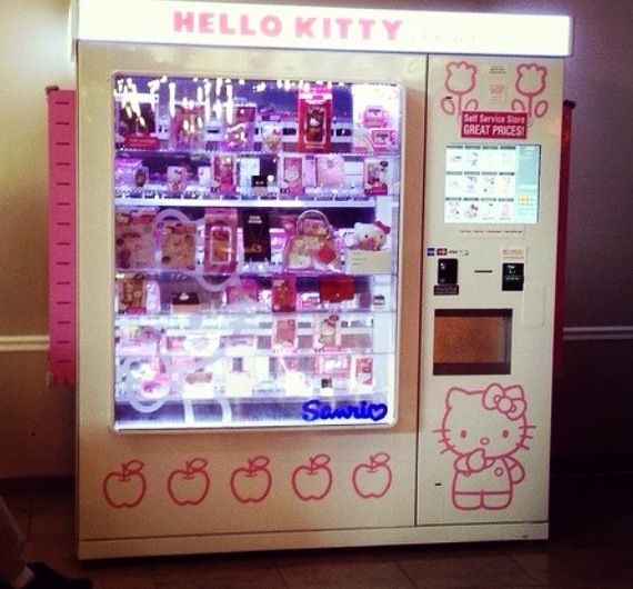 Hello Kitty Vending Machine!! LOVE LOVE LOVEEE ITTTTT