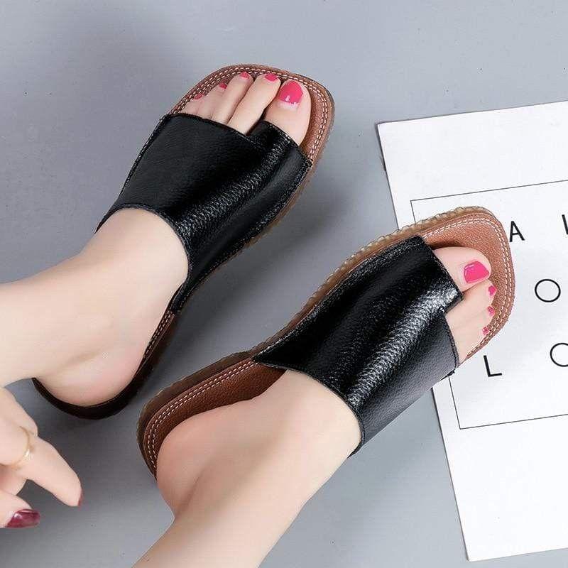 Bunionfree Orthopedic Correction Leather Sandals Bunion Plantar Fasciitis Sandals Orthotic Sandals Shoes Leather Sandals Women Leather Sandals Bunion Shoes