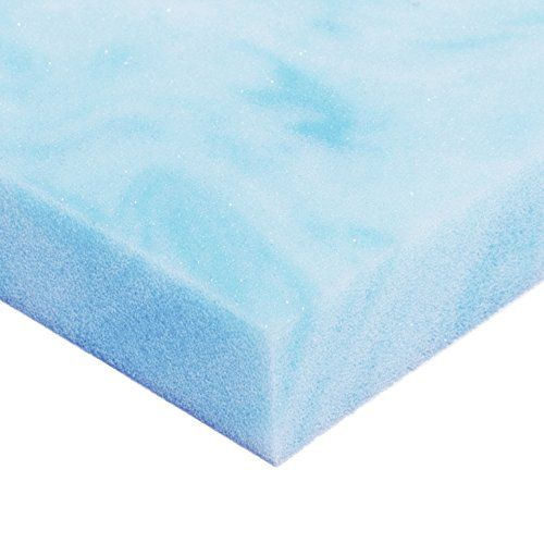 Avana Comfort GelInfused Cooling Memory Foam Mattress Topper Ultra