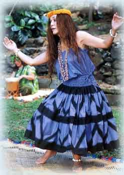 How to make a Pa'u Hula Dance Skirt - by realhula
