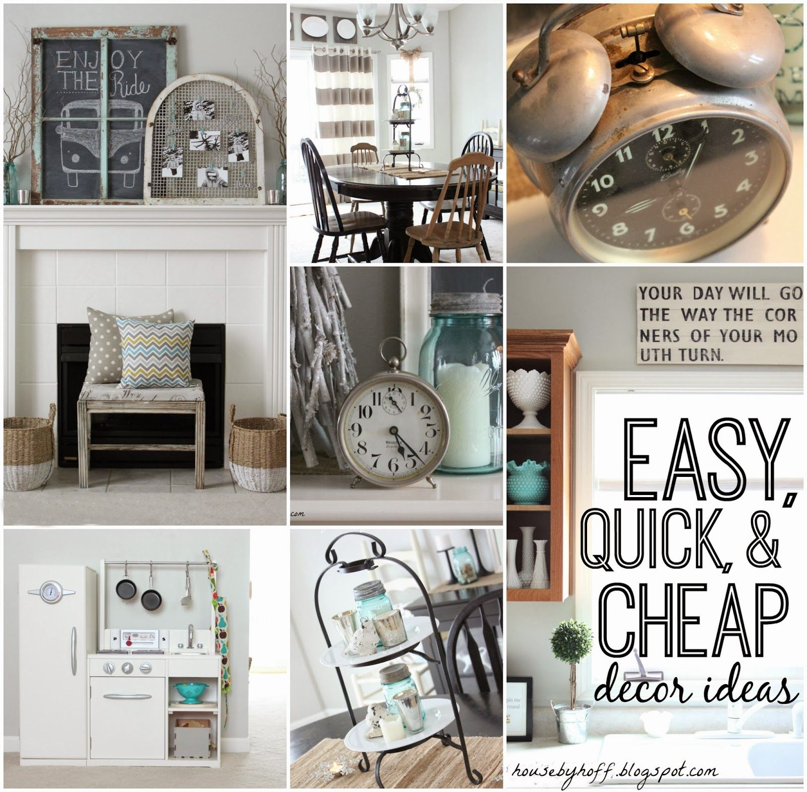 Easy Quick Cheap Decorating Ideas That Anyone Can Incorporate