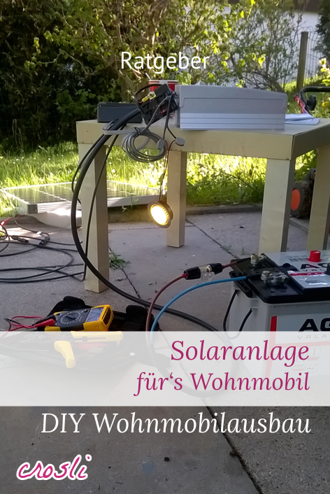 mobile solaranlage f r wohnmobil camping selber planen einbauen pinterest camping rv. Black Bedroom Furniture Sets. Home Design Ideas