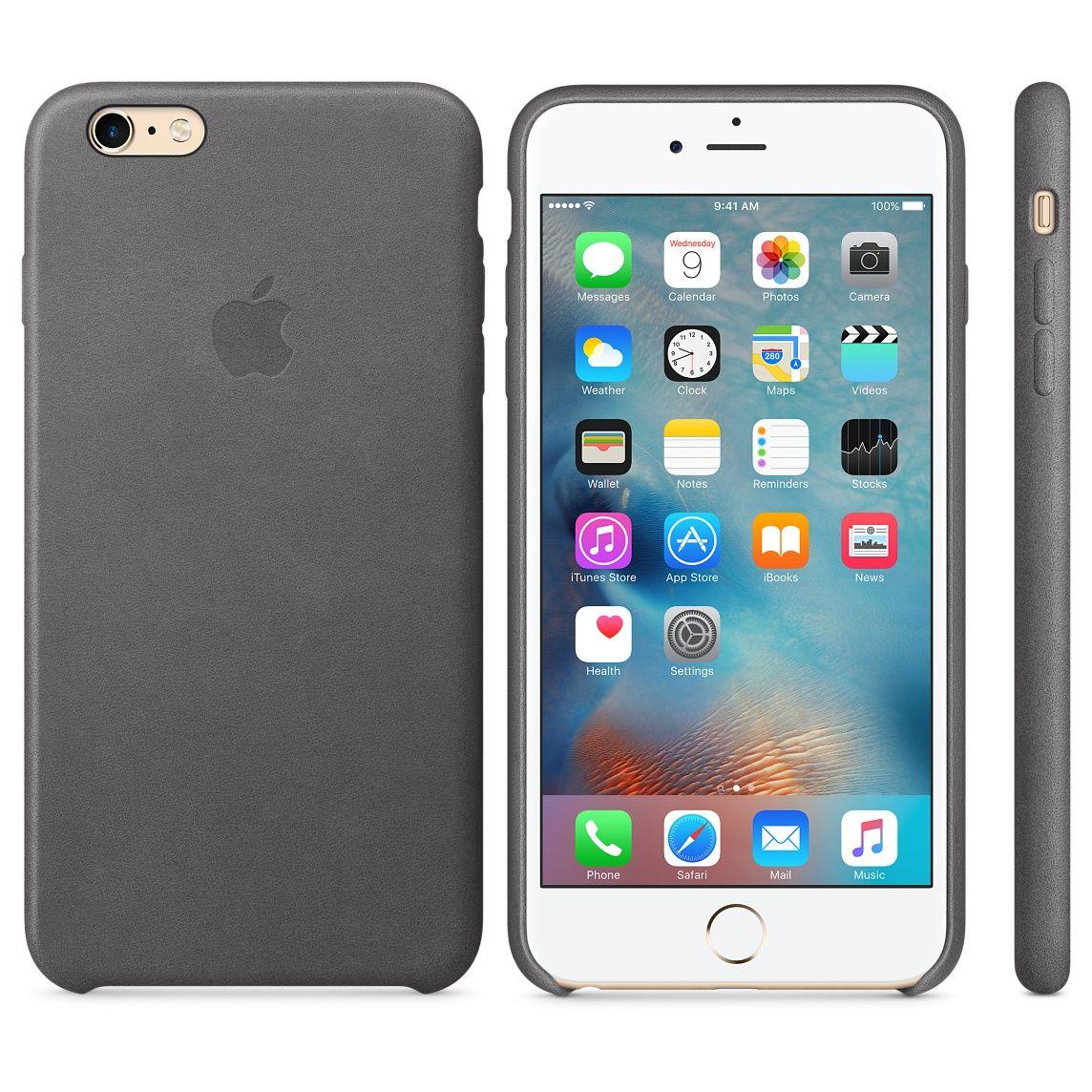 Iphone 6 Plus 6s Plus Leather Case Midnight Blue Fundas Para