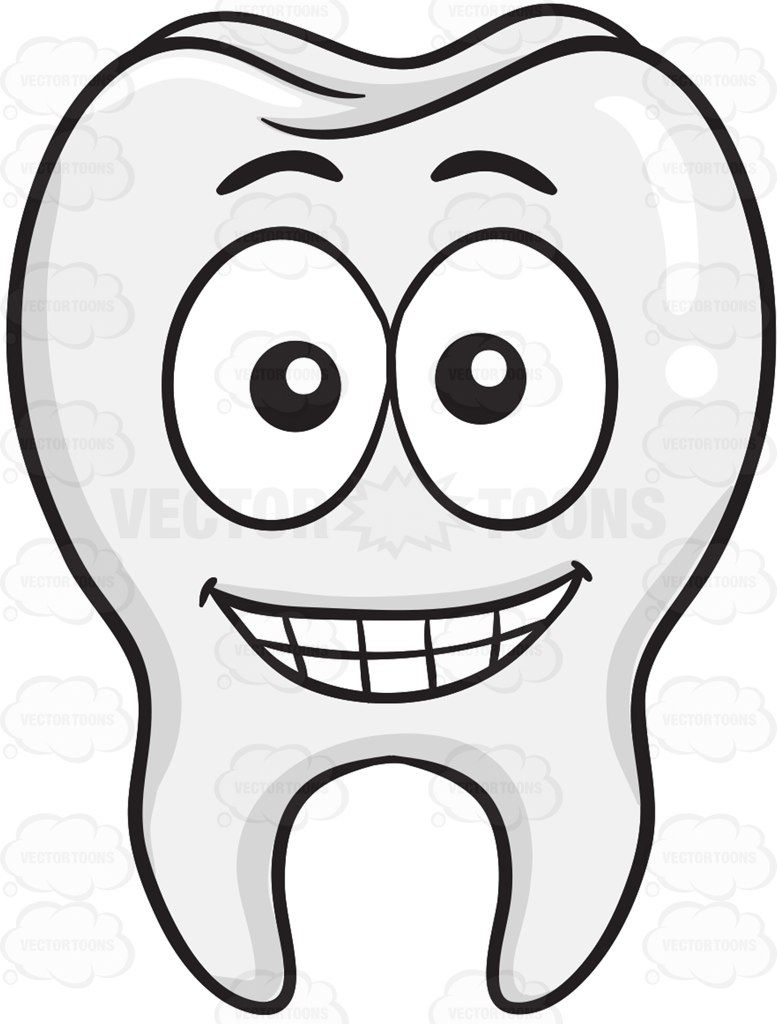 tooth with a wide grin on face | νηπιαγωγειο | pinterest | teeth