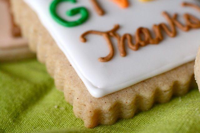 Spiced Brown Sugar Cut-Out Cookies #cinnamonsugarcookies