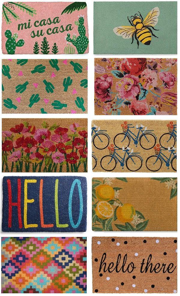 Cheery Spring Doormats Spring Doormats Door Mat Diy Door Mat