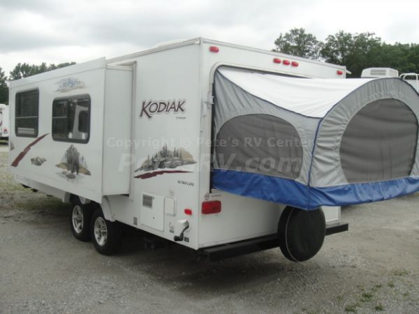 2010 Kodiak Expandable 214, Hybrid / Expandable Trailer by ...