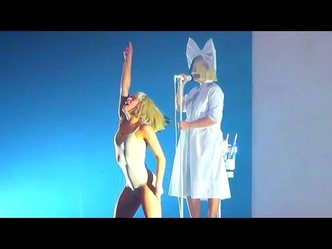 Sia - Live Concert - Crocus City Hall (Moscow, Russia) 04 08