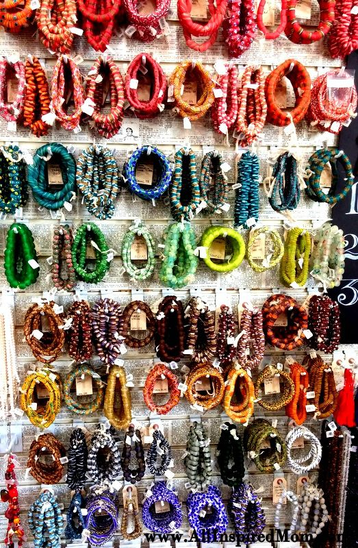 Beautiful handcrafted beads at Ornamentea