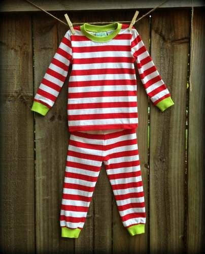 Personalized Christmas Pajamas from HanMade Designs on Etsy!