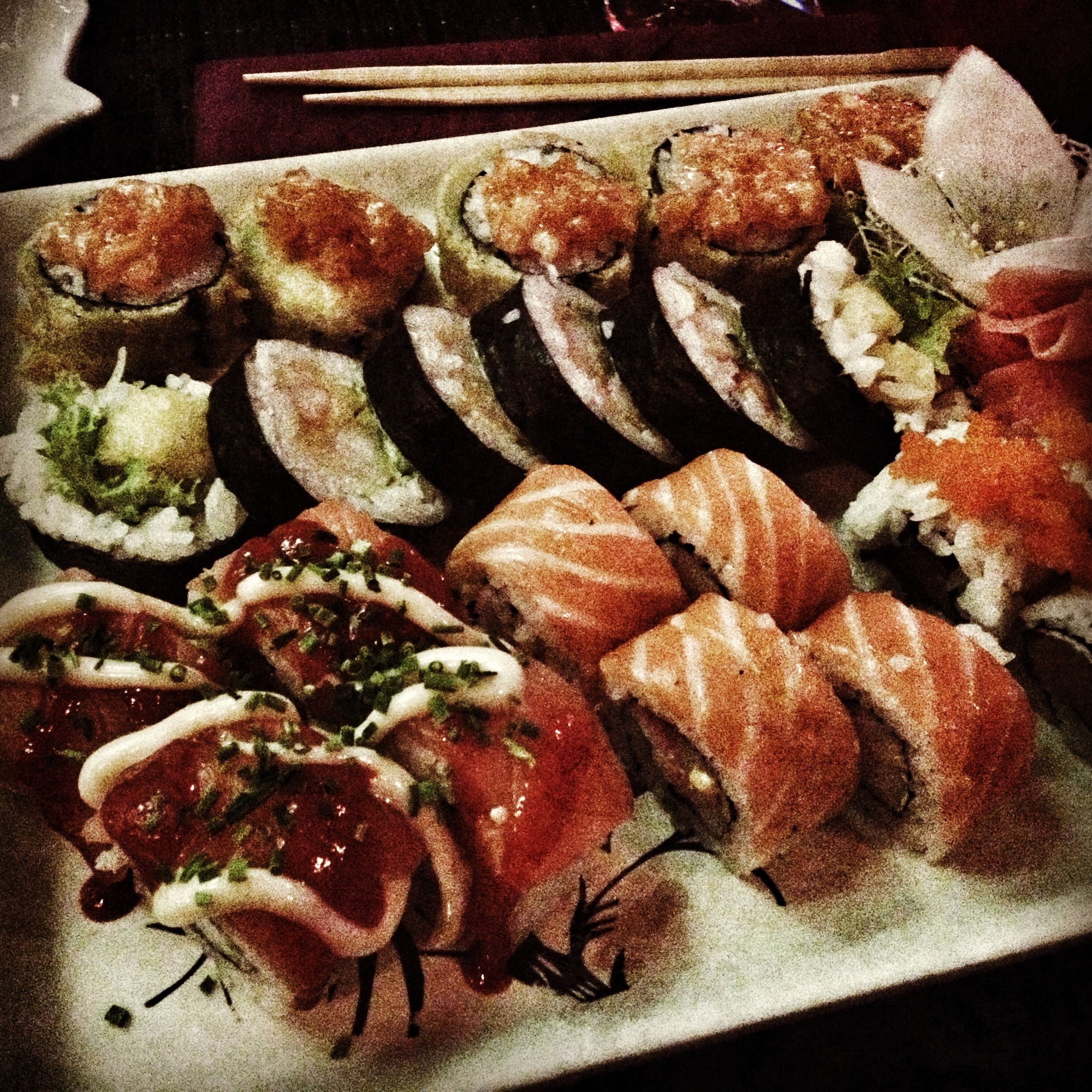 Sushi forever! The best in Poznań!