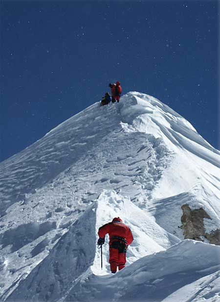 Shishapangma Summit
