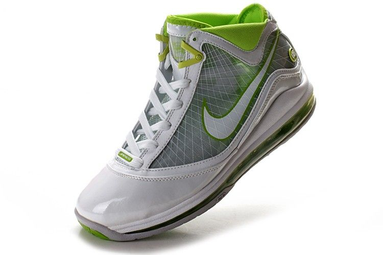 4768974e483 Nike Air Max Lebron 7 (VII) - White Grey Green! 76.20USD