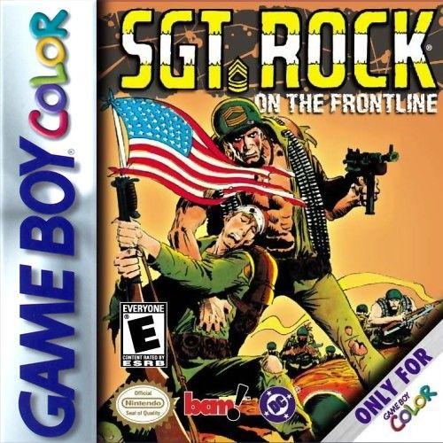 Sgt Rock On The Frontline Game Boy Color Frontline Sergeant