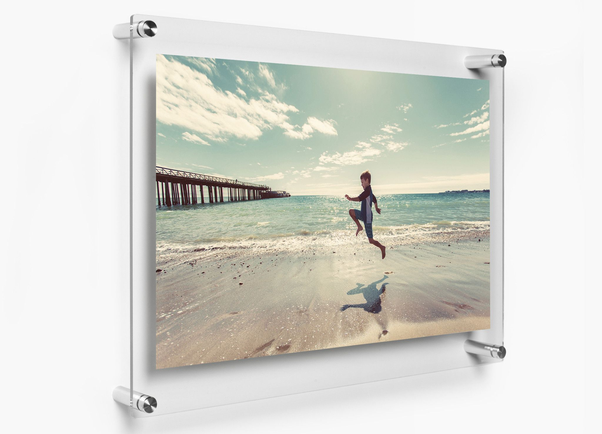 Double Panel 19 X 23 Wall Frame Dr Frames On Wall Clear Picture Frames Floating Picture Frames