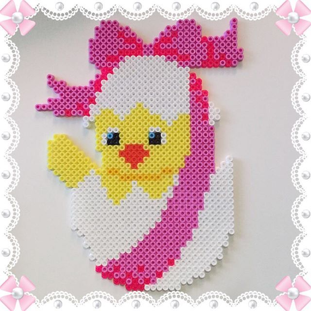 Easter egg hama beads by  design_by_sofia