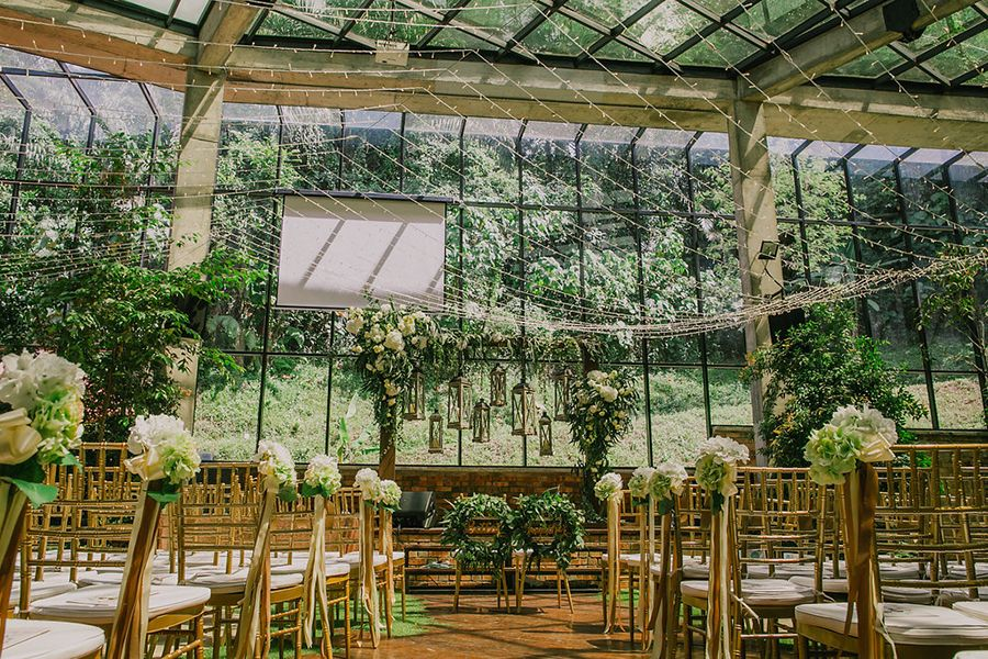 Chris And Sher Lynn S Garden Wedding At Glasshouse At Seputeh In