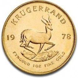 1 Ounce Gold Krugerrand Gold Krugerrand Silver Bullion Gold Coins