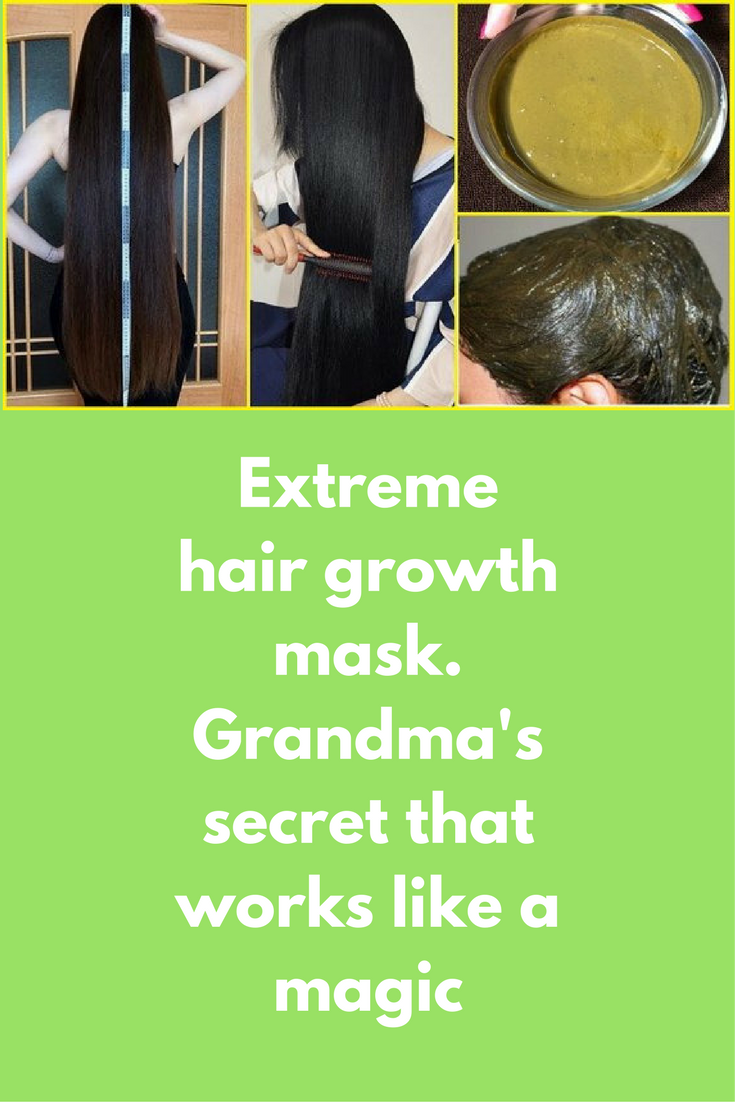 Extreme Hair Growth Mask Grandma S Secret That Works Like A Magic This Is Remedy Which Will Make Your Long And Thicken Naturally