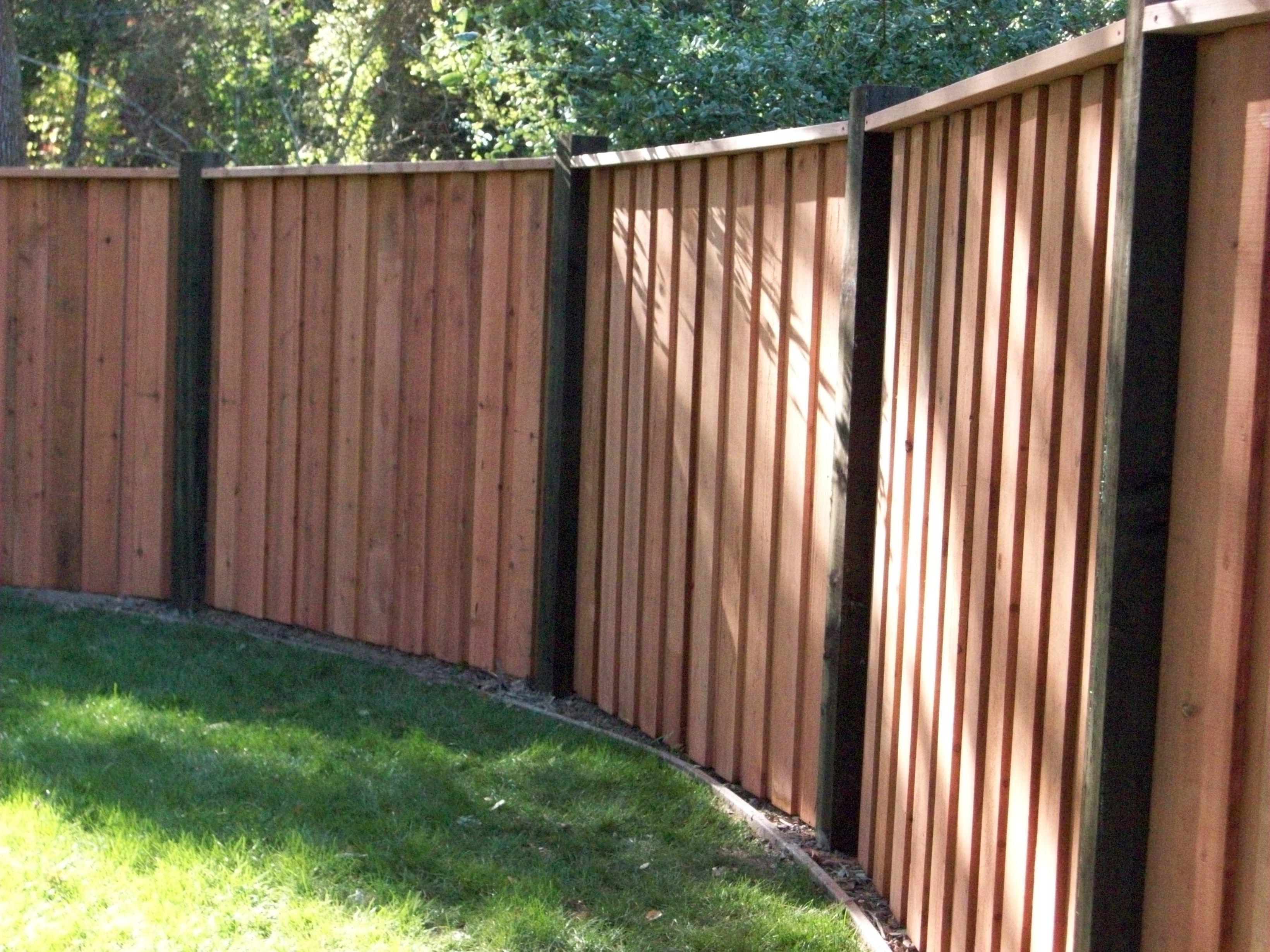 Board on board fence solid wood fences pinterest wood fences board on board fence baanklon Gallery