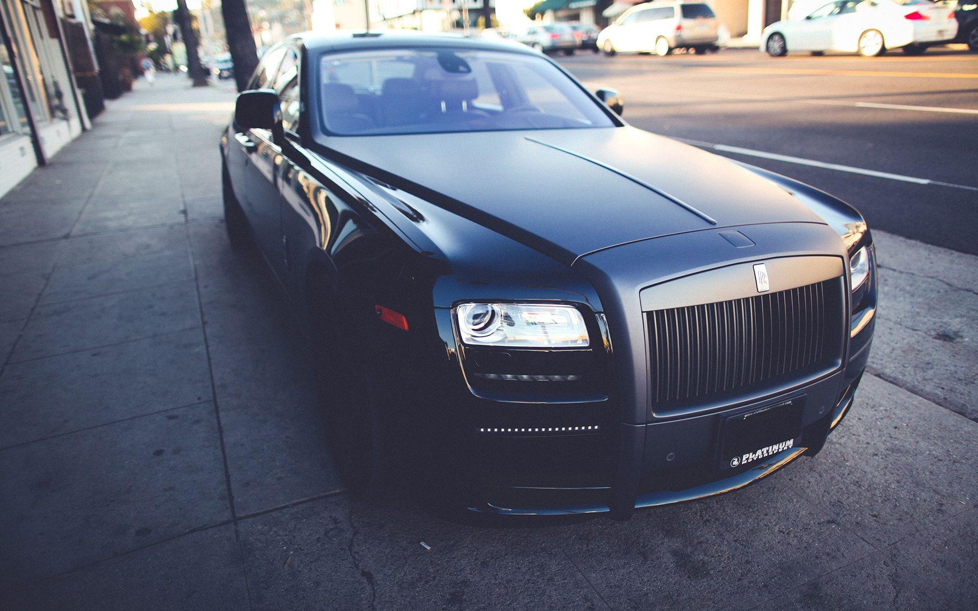 Rolls Royce Ghost Black The Best Wallpaper Backgrounds Pinterest