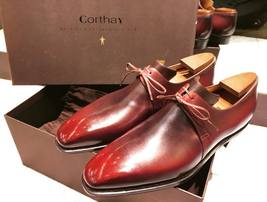 定番のコルテ-アルカ🍁 #corthay #maisoncorthay #shoes #arca #timeless #classic #red  #box #coloration #shiny #chic #luxury #art #purple … | Womens oxfords,  Oxford shoes, Shoes