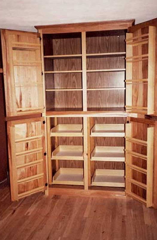 Large kitchen Pantry - roll outs, shelves, and ?