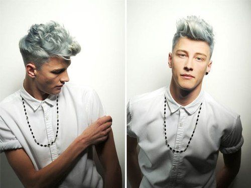 Hair Color Trends and Ideas for Men | Hair coloring, Hair style ...