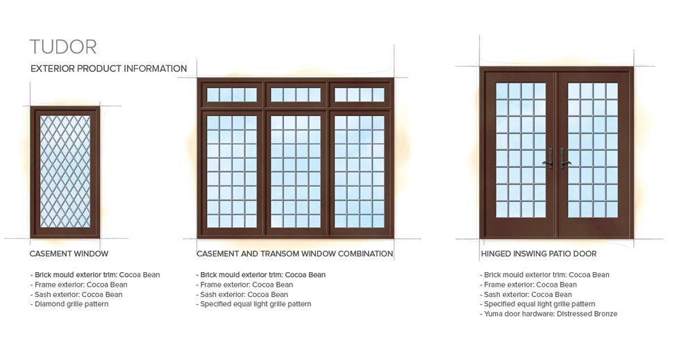 Tudor Windows tudor home style exterior window door details | ucc interior