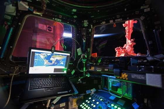 Interior of the International Space Station - NASA
