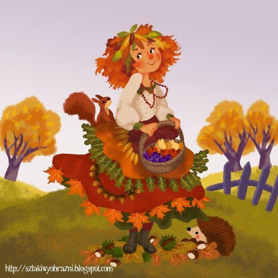 Znalezione obrazy dla zapytania pani jesień | Disney characters, Disney,  Character