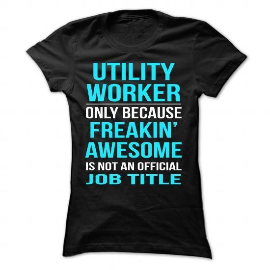utility WORKER T-Shirt Hoodie Sweatshirts oiu. Check price ==► http://graphictshirts.xyz/?p=106798