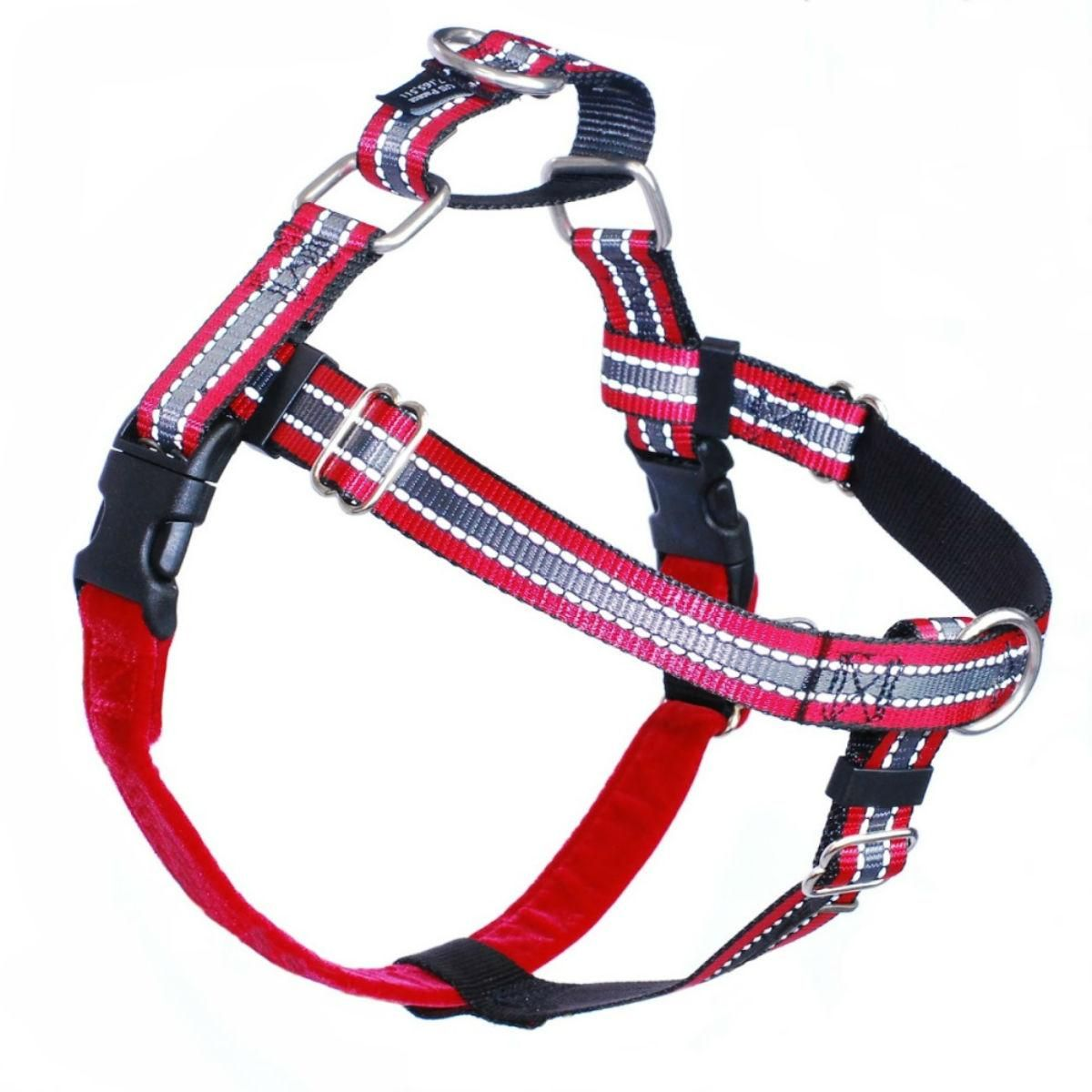 No Pull Dog Harness Deluxe Training Package Red Reflective Dog Harness Dog Weight Reflective Dog Harness