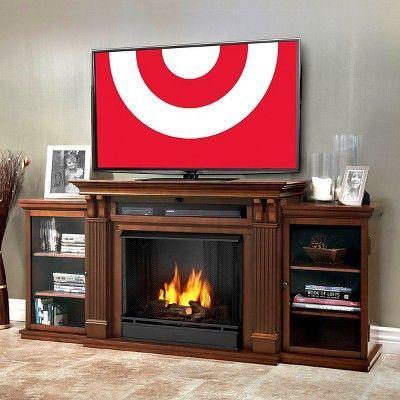 Real Flame Calie Electric Tv Media Fireplace Dark Espresso