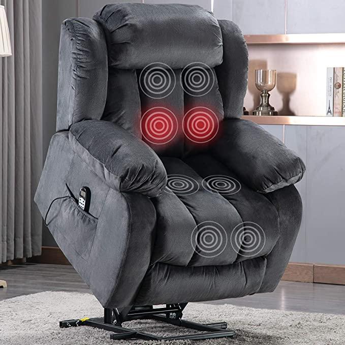 ANJ Power Massage Lift Recliner Chair with