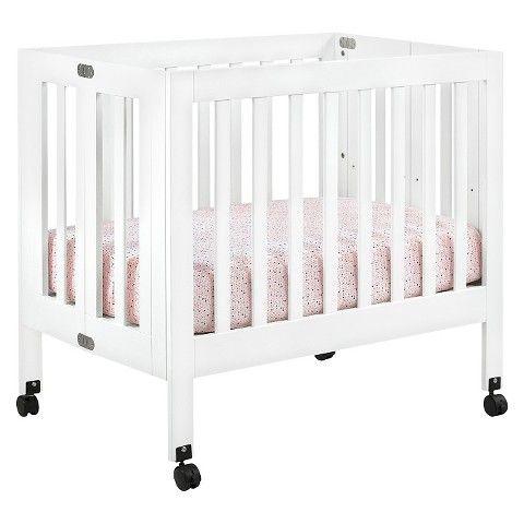 Babyletto Origami Mini Crib Gray Babyletto Mini Crib Mini Crib Small Baby Cribs