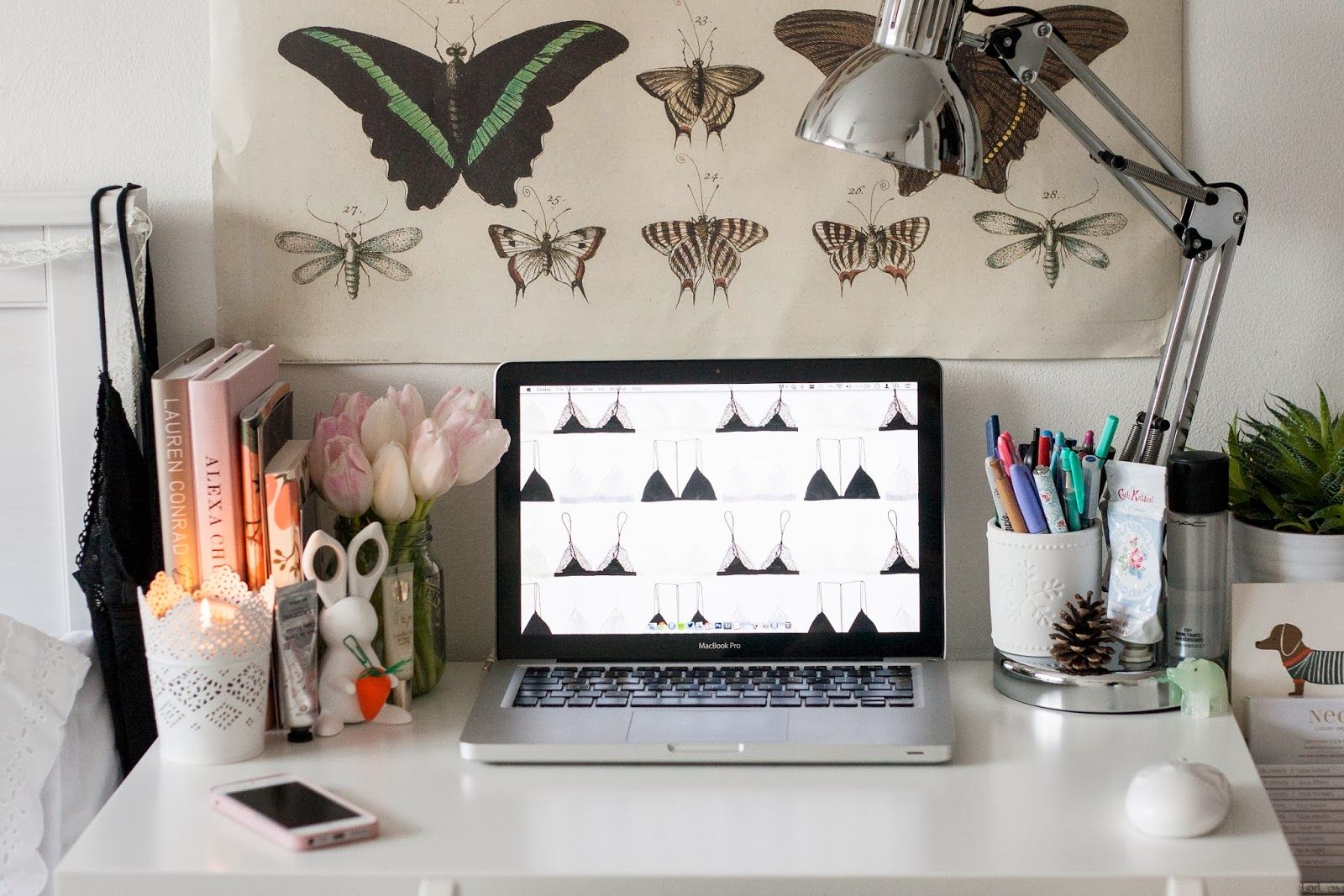 Desks, interiors and art on pinterest