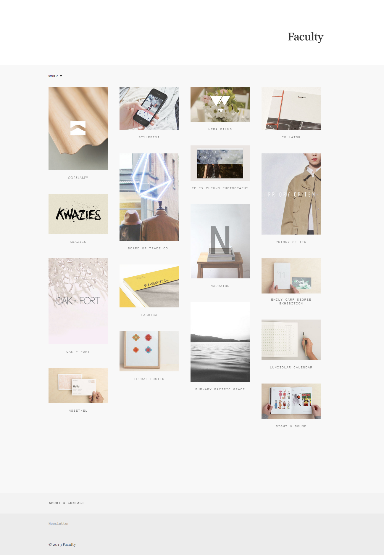 Faculty Vancouver Web Design Graphic Design Mobile App Design Minimalist Web Design Web Design Web Design Company