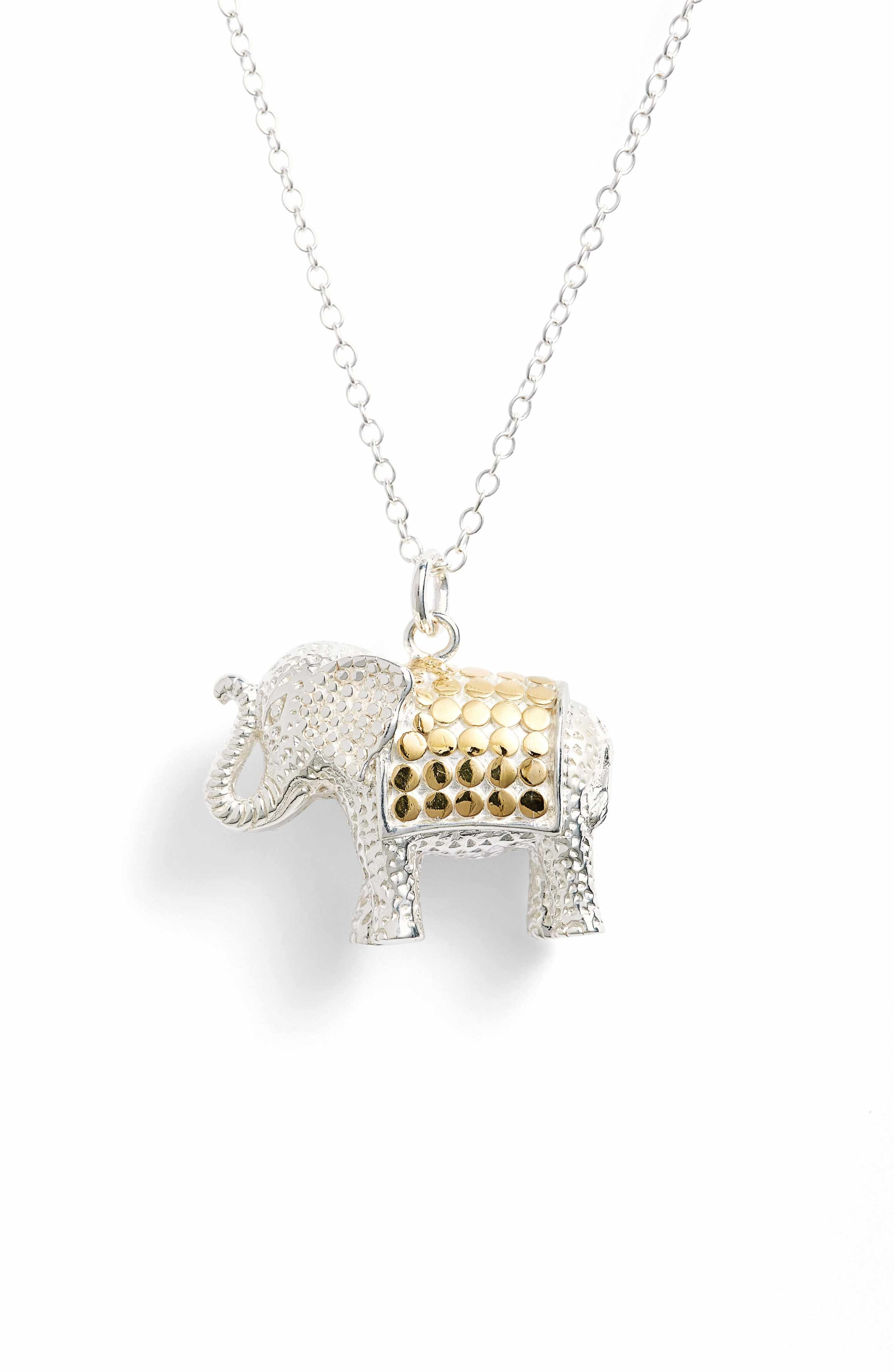 3aa82cc99 Main Image - Anna Beck Jewelry That Makes a Difference Elephant Pendant  Necklace