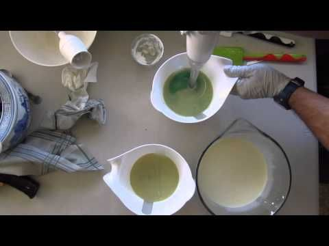 Making Wondermint Cold Process Soap - YouTube