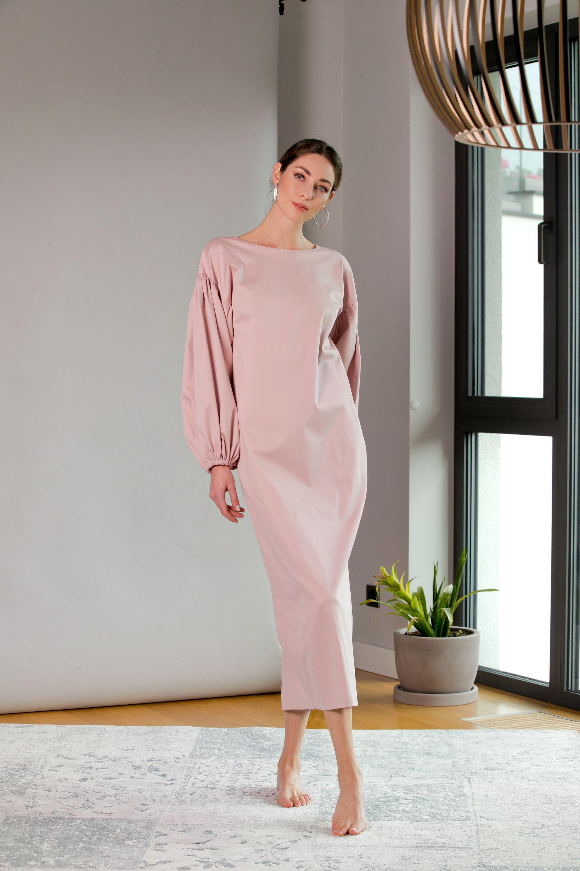 Sale Dress Elegant Dress Wedding Guest Dress Pink Dress Etsy Pink Long Dress Wedding Guest Dress Plus Size Cocktail Dresses [ 3000 x 2000 Pixel ]