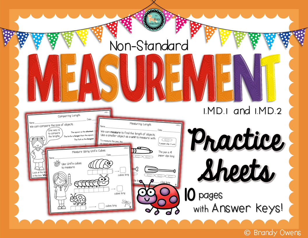 An Introduction To Non Standard Measurement Covers