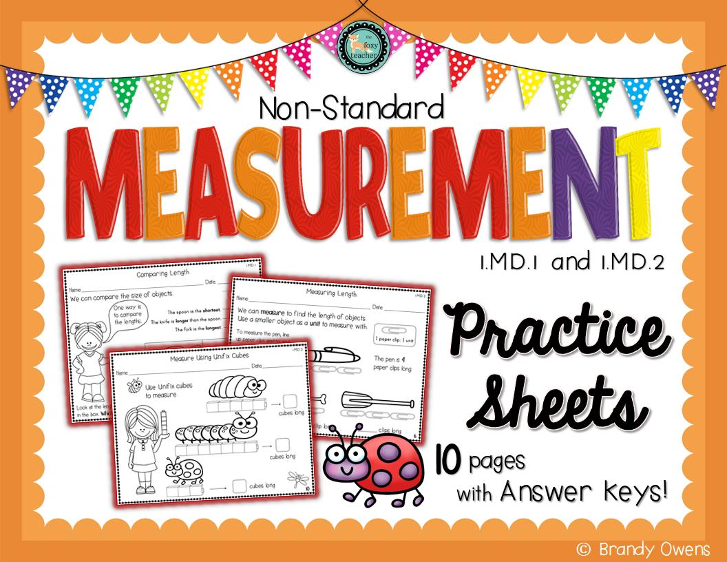 Measurement Non Standard