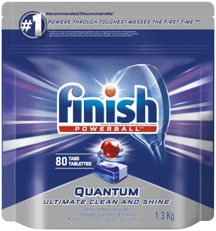 Finish Powerball Quantum Max Fresh Scent Dishwasher Detergent Dishwasher Detergent Finish Dishwasher Cleaner