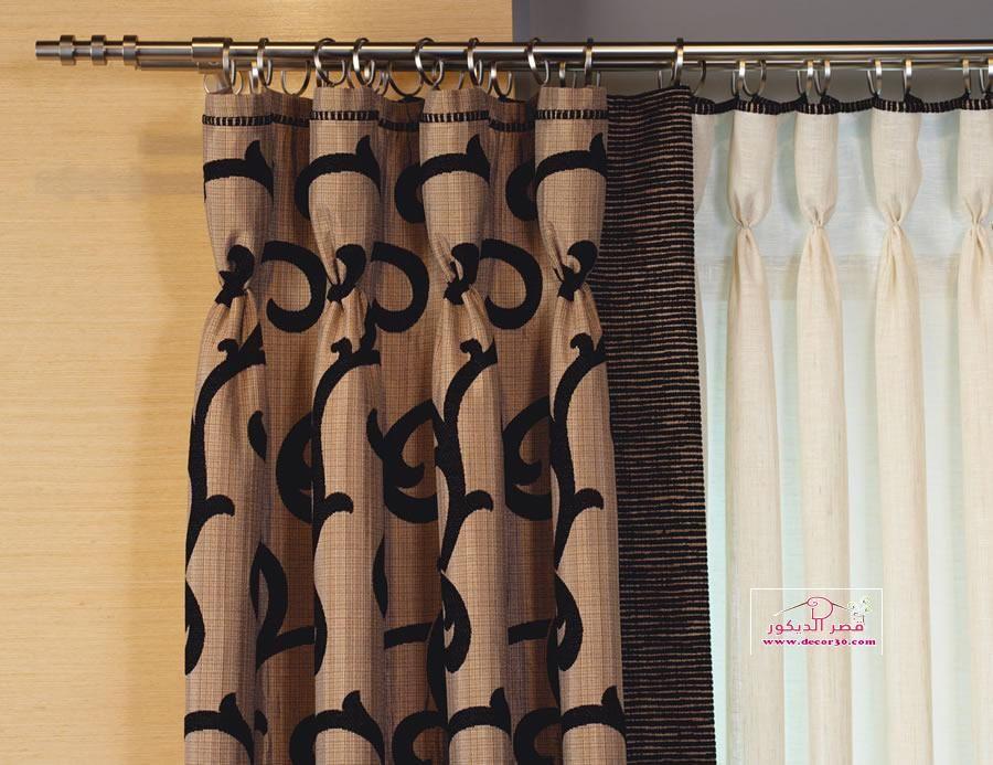 موديلات ستائر إيطالية جديدة New Italian Curtain Models قصر الديكور Classic Dining Room Modern Curtains Holiday Room