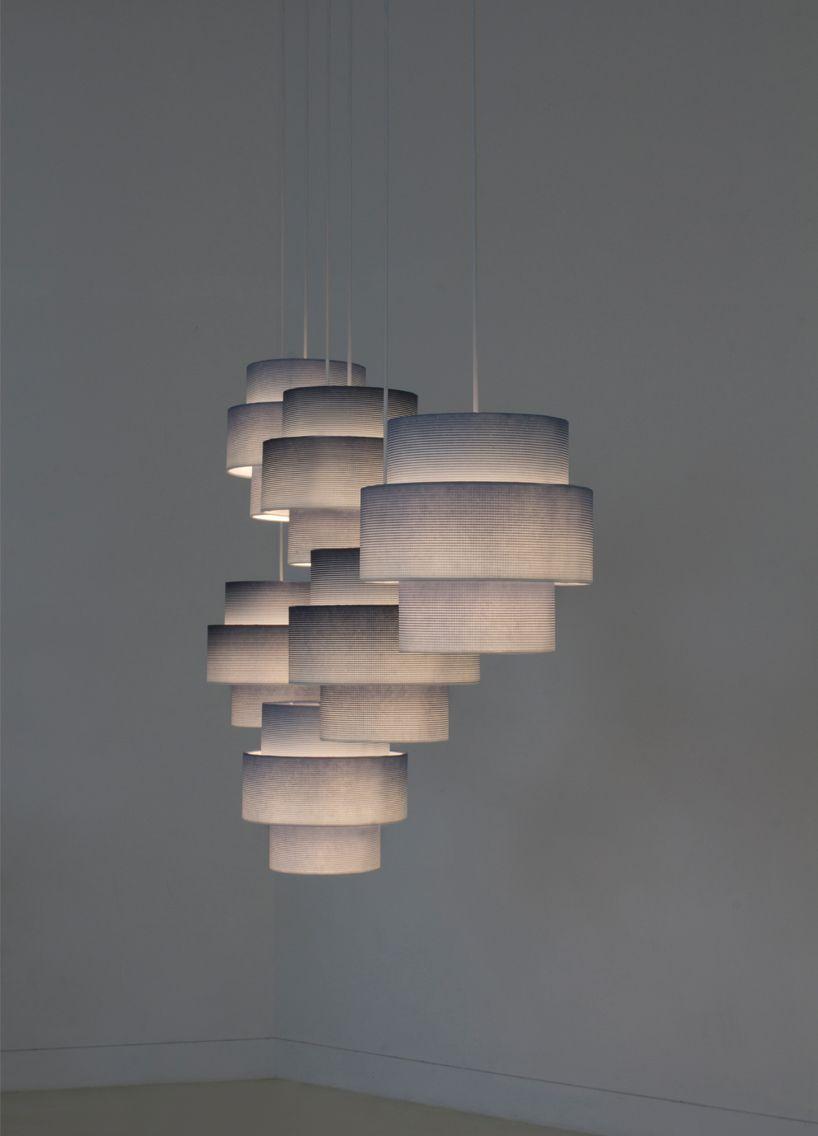jungmo seungyeon woven lamp embeds korean hanji patterns