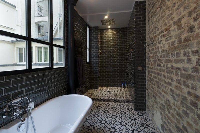36 id es d co avec des motifs carreaux de ciment saunas und - Carrelage Salle De Bain Avec Motif