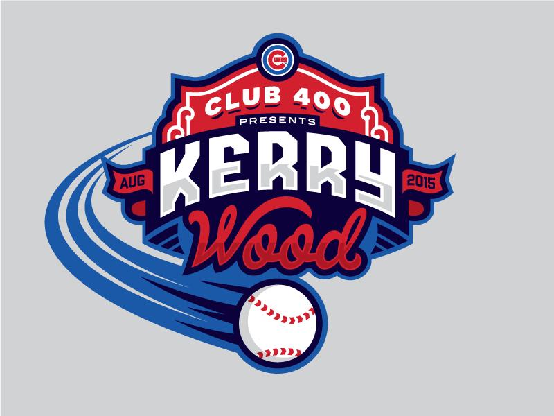 Kerry Wood Baseball Teams Logo Sports Logo Inspiration Sports Logo Design
